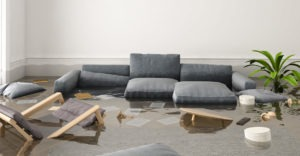 flood damage couch upholstery restoration